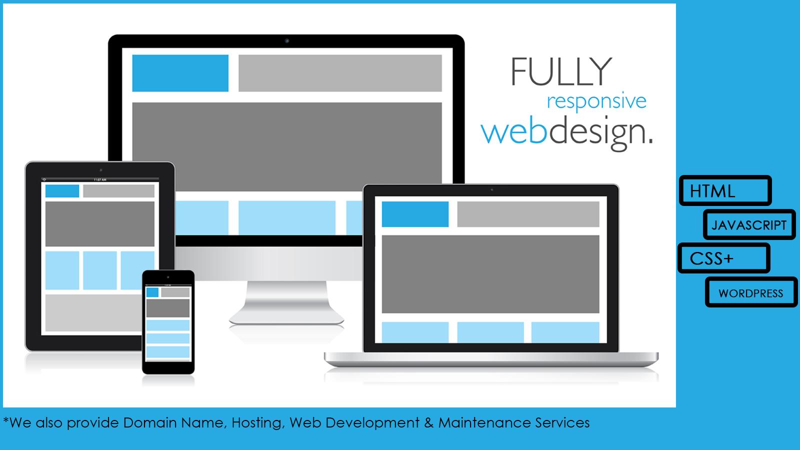 Website Design page